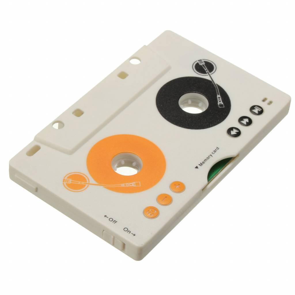 V intage Auto Tape Cassette SD MMC Mp3-speler Adapter Kit Met Afstandsbediening