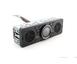 1 din Autoradio Mp3-speler Ingebouwde 2 speaker ondersteuning USB SD AUX Bluetooth FM Radio Ontvanger 1din 12 V auto Audio Player