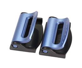 1 Paar Nuttig Autogordel Gesp Clips Universele Verstelbare Extension Veiligheidsgordel Stopper Clip Auto-accessoires Auto styling
