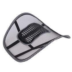 MyXL Autostoel Stoel Terug Massage Lendensteun Taille Kussen Mesh Ventileren Kussen Voor Car Office Home auto styling
