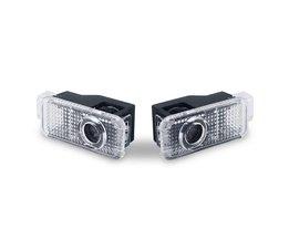 2x LED Auto Deur Welkom Licht Laser Projector S line Logo Voor AUDI A1 A3 A4 A5 A6 A7 A8 R8 Q3 Q5 Q7 TT B6 B8 B5 C5 C6 8 P 8L 8 V