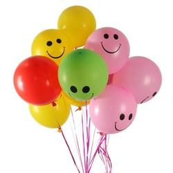 MyXL Ballonnen met Smileys 100 Stuks