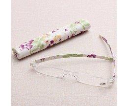 Leesbril Zonder Montuur en Met Brillenkoker