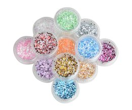 Glitters voor Nagels (12 Stuks)