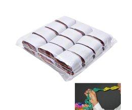 12 Coils/lot Veelkleurige Mond Papier Goocheltrucs Mond Coils-Kleur-Papier magic prop magic speelgoed 3.5 cm * 2.2 cm