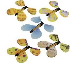 Magic Vlinder Vliegende Vlinder Hand Transformatie Fly Vlinder Magic Props Grappig Verrassing Prank Joke Mystieke Truc Speelgoed