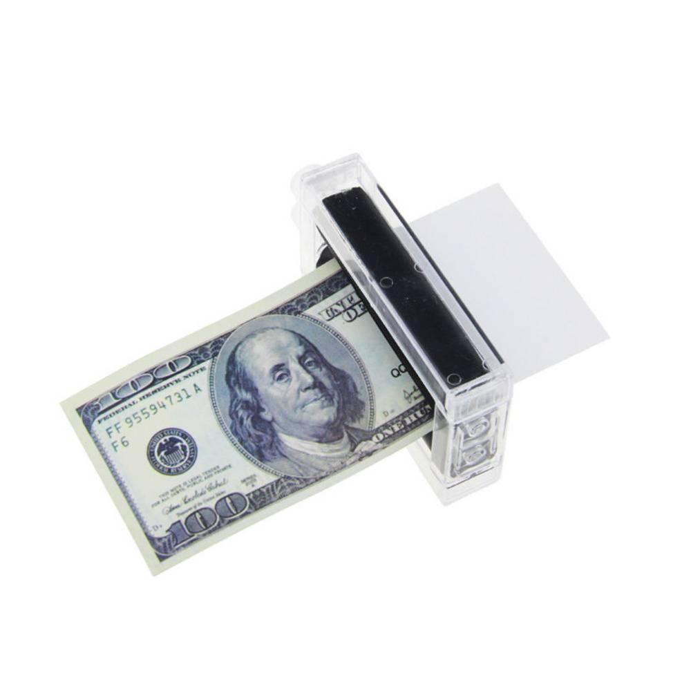 Nieuwe1 STKS Goochelaar Rekwisieten Geld Printing Machine Geld Maker Beter speelgoed voor kinderen G