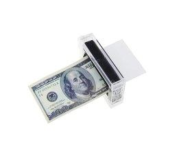Nieuwe1 STKS Goochelaar Rekwisieten Geld Printing Machine Geld Maker Beter speelgoed voor kinderen Gemakkelijk Goocheltruc Gemakkelijk Speelgoed