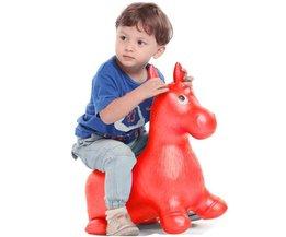 BOHS Ritten op Dier Bouncy Paard Hopper Speelgoed Springkussen Springen Kind Opblaasbare Rubber Baby 60*52*28 cm