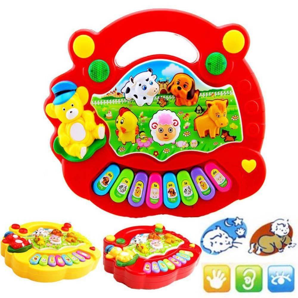 Speelgoed Muziekinstrument Baby Kids Musical Educatief Piano Dier Boerderij Developmental Muziek Spe