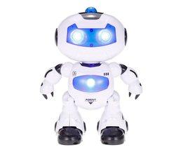 SPEELGOED 99333 Afstandsbediening Robot Wandelen Verlichting Muzikale Elektrische Speelgoed Auto Kinderen Kids