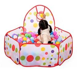MyXL Kinderen Kid Oceaan Bal Pit Pool Game Play Tent In/Outdoor Kids Huis Spelen Hut Zwembad Spelen Tent 100*100*37 cm