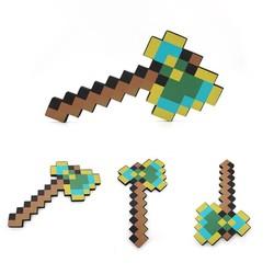 MyXL Minecraft Foam Speelgoed Multicolour Minecraft Axe Zwaard Pickaxe EVA Actiefiguren Speelgoed Geschenken voor Kids Outdoor Fun