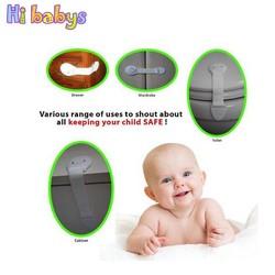 MyXL 10 stks Baby Kabinet Sloten Baby Veiligheid Kind Veiligheidsslot Voor Kids Baby Beveiliging Kabinet Koelkast Wc Deur Laden Lock