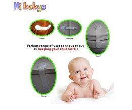 10 stks Baby Kabinet Sloten Baby Veiligheid Kind Veiligheidsslot Voor Kids Baby Beveiliging Kabinet Koelkast Wc Deur Laden Lock
