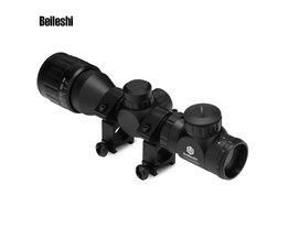 2-6x32 AOEG Riflescope Telescoop Snelle Optische Zicht tactische Reticle Scope Voor Tactische Jacht Pistool Met 20mm Rail Mount