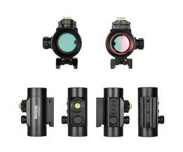 1x30mm Red Dot Sight Riflescope Mini Verlichte 5MOA Red Dot Sight Scope Outdoor Tactische Jacht Scope Guns Scopes