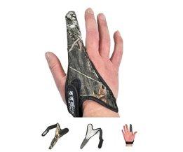 1 PSC Anti Slip Een Vinger Vissen Handschoenen Vingers Protector Sport Ademend Vis Handschoenen Vissen Accessoires FG-016