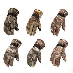 MyXL Waterdichte Winter Jacht Handschoenen Camuflage Volledige Vinger Ademende Geïsoleerde Tactische Handschoen Voor Schaatsen Motorfietsen