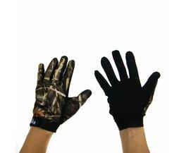 1 Paar Antislip Vissen Handschoenen vingerhandschoenen Outdoor jacht Handschoenen Camo camouflage Handschoenen Voor Vissen