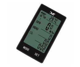 YS Fiets Draadloze Computer Bike Snelheidsmeter Temperatuur Display Multifunctionele Waterdichte Auto Fietsen Kilometerstand