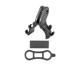 Fietslicht TORCH Zaklamp Houder Clip Beugel voor Racefiets MTB fietsonderdelen aangepast voor Gopro mount