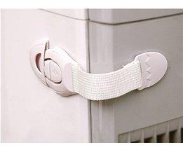 10 stks Baby Veiligheidsslot multifunctionele Bochtige Koelkast Kastdeur Sloten Drawer Wc Veiligheid Plastic Lock MU871404