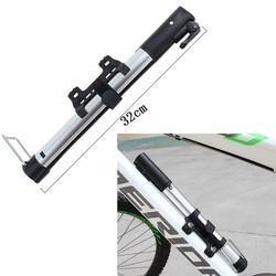 MyXL Inflator Bike Pomp Aluminiumlegering MiniPortable Fietsband Pomp Ultralight Fietsen Luchtpomp Zilver Kleur Voor Bike