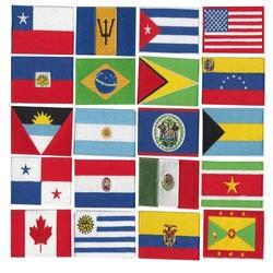MyXL Meer dan 200 landen patch/10 STKS batch borduurwerk vlag, goede kwaliteit lage prijzen kan accepteren maatwerk