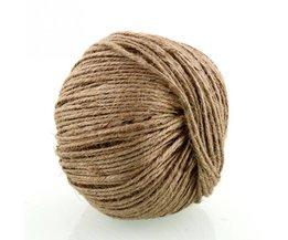 Natuurlijke Jute Touw 2mm Zachte 100 M Natuurlijke Jute Twine Geschenkdoos String Touw Bloemen Craft Wedding Tags Wrap Decor