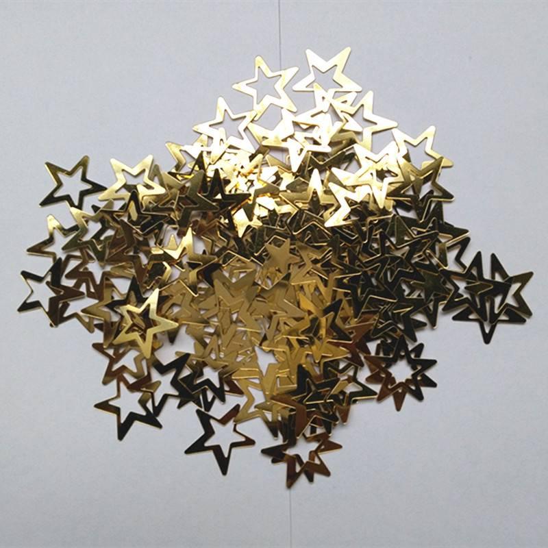 Sterren Tafel Confetti Sprinkles Verjaardagsfeestje Bruiloft Decoratie Sparkle Blauw Goud Zilver Gro
