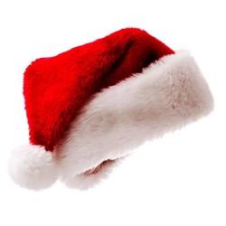 MyXL Winter Kerst Flanel Hoed Xmas Party Cap Jongens en meisjes Mode Rode Leuke Mooie Caps Nieuwjaar Vrolijk Kerst Decor