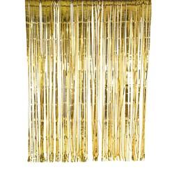 MyXL Goudfolie Glitter Gordijn 2 m x 2 m Wedding/Party Achtergrond