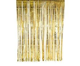 Goudfolie Glitter Gordijn 2 m x 2 m Wedding/Party Achtergrond