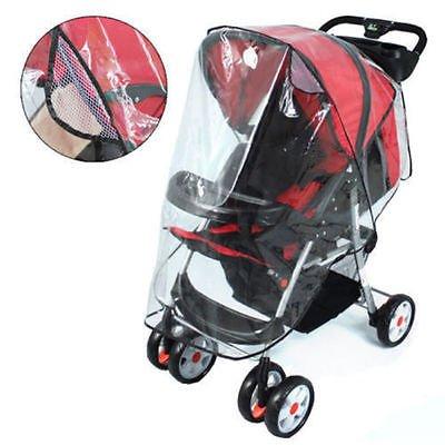 Universal Buggy Wandelwagen Wandelwagen Pram Transparante Regenhoes Baby Reizen Cover
