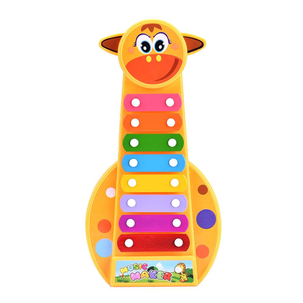 Mew Kind Kid Baby 8-Note Xylofoon Musical Speelgoed Xylofoon Wijsheid Juguetes Muziek InstrumentSpee