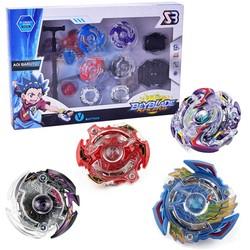 MyXL 4 stks/set Originele Bey blade Arena Spinning Tops Speelgoed Fusion Geschenken Speelgoed voor Kinderen Verjaardag Kerst Verjaardag