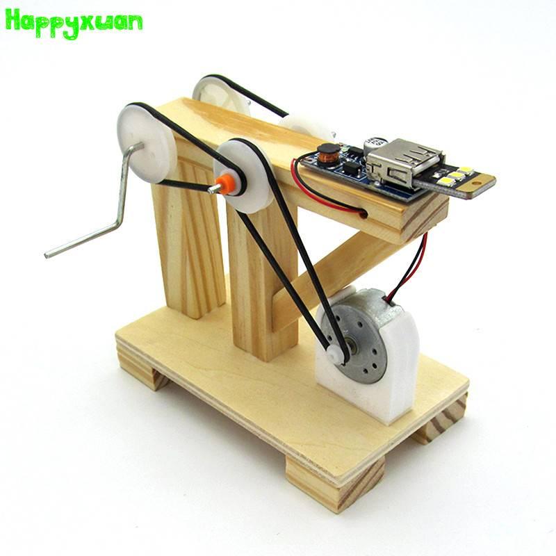 Happyxuan DIY Technologie Handgemaakte Generator Kleine Productie Uitvinding Vergadering Model Exper