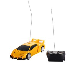 Kids afstandsbediening auto 1/24 drift snelheid radio rc rtr truck racewagen speelgoed xmasorange rood (stuur by willekeurige)