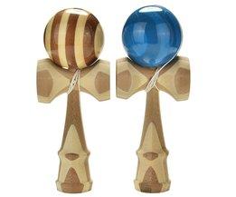 Professionele Bamboe Kendama Speelgoed Bamboe Kendama Bekwame Jongleren Bal Speelgoed Voor Kinderen Volwassen Kleuren Willekeurige Kerst Speelgoed