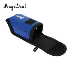 MyXL MagiDeal Super Elastische Neopreen SBR Mini Draagbare Golf Opbergtas Houder Pouch Kleine Taille Pack Ballen Tees Accessoires Blauw