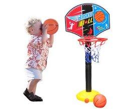 BOHS Kids Kinderen Miniatuur Basketbal Hoops Set Stands Adjujstable met Inflator Speelgoed voor Jongens, 115 cm, Outdoor Fun & Sport