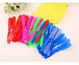 12 stks Nieuwigheid Plastic Bamboe Libel Propeller Outdoor Speelgoed KidsVliegende