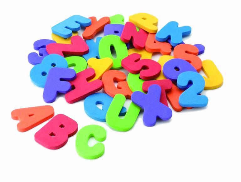 AmerikaanseWater Douche Alfanumerieke Pasta Baby Bad Letters en nummers Speelgoed Puzzel 2 3 jaar 36