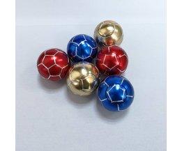 Metalen hand fidget spinner bal speelgoed 35*35mm vinger anti-pers gyro bal voetbal basketbal cube spinner d21