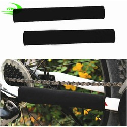 MyXL Duurzaam Fietsen Chain Stay Chainstay Fiets Guard Cover Frame Black Protector SM3204