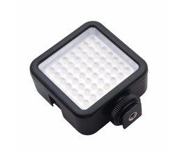 Lange Levensduur 5.5 W 800lm 6000 K Mini Draagbare 49 LED Video Lamp Fotografische Foto Verlichting voor Camera Fotografie