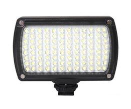 96 LED 9 W Foto Camera Video Hotshoe LED Lamp Verlichting voor Camcorder DSLR Bruiloft