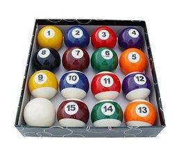 16 Stks/partij Classic Mini Formaat BiljartPool Biljart Ball Ronde Vorm Beste Geschenken Speelgoed Sport Entertainment Product