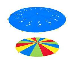 Dia 3 M Kid Buitensporten Speelgoed Regenboog Paraplu Parachute Speelgoed voor Kinderen Kids Samenwerking Relaties Ontwikkelen Training Speelgoed